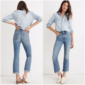 Madewell Cali Demi Boot Eco Comfort Stretch Jeans